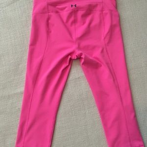 Under Armour Pants - Under Armour cropped yogas